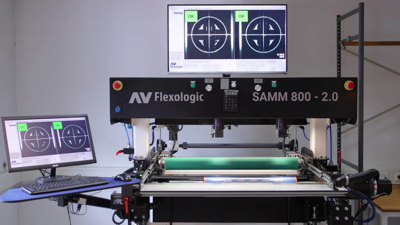 SAMM 800 workflow video