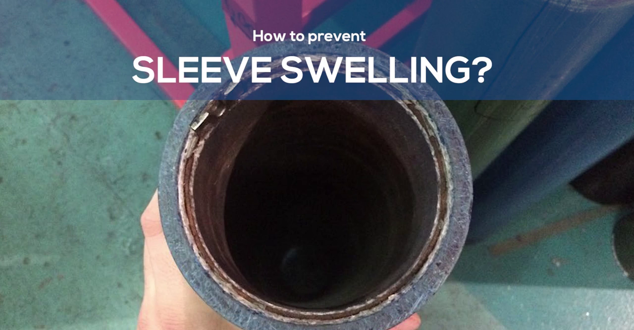 prevent sleeve swelling