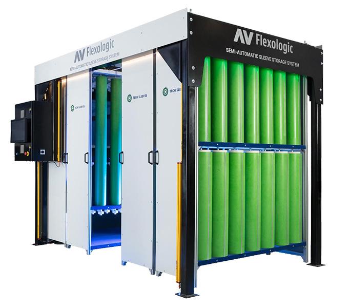 Sleeve Storage System Drupa 2020