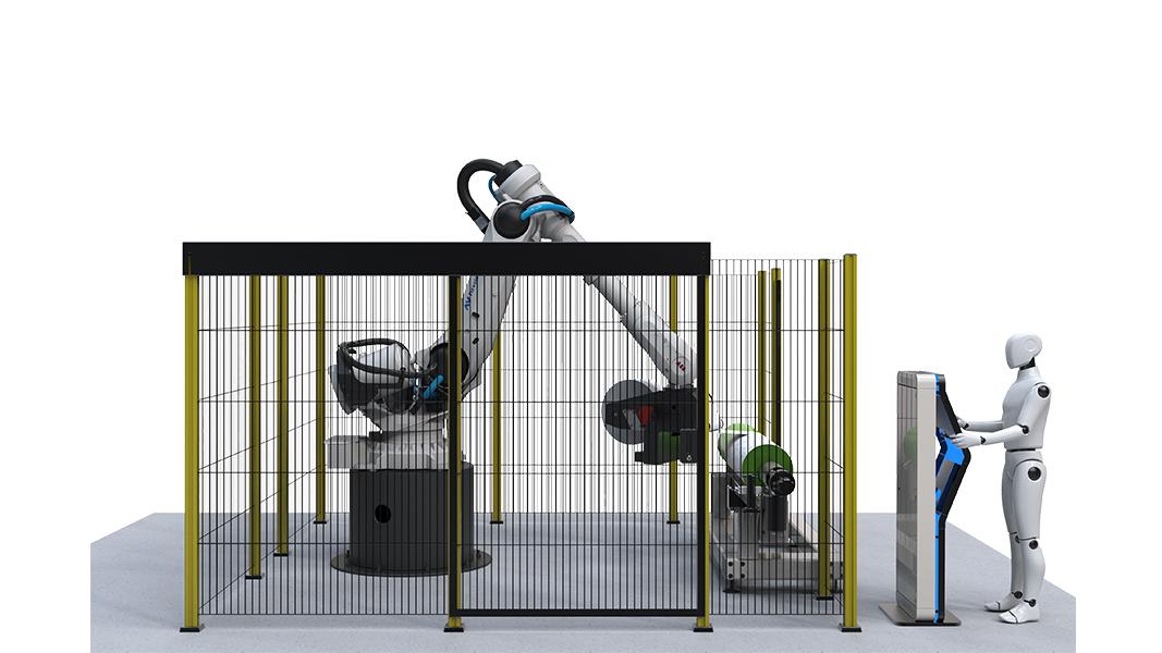 Robotape Safety Fence